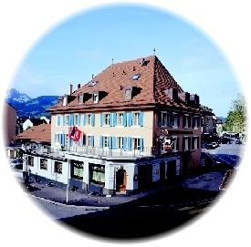 Hôtel du Cheval Blanc - Bâtiment